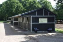 Stallen van Dressuurstal Bloem